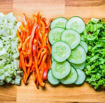 Meal Prep: DIY Salad Bar