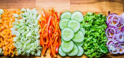 Meal Prep: DIY Salad Bar