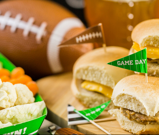 Diabetes food hub articles slideshow 12 healthy tailgating options forumfinder Image collections