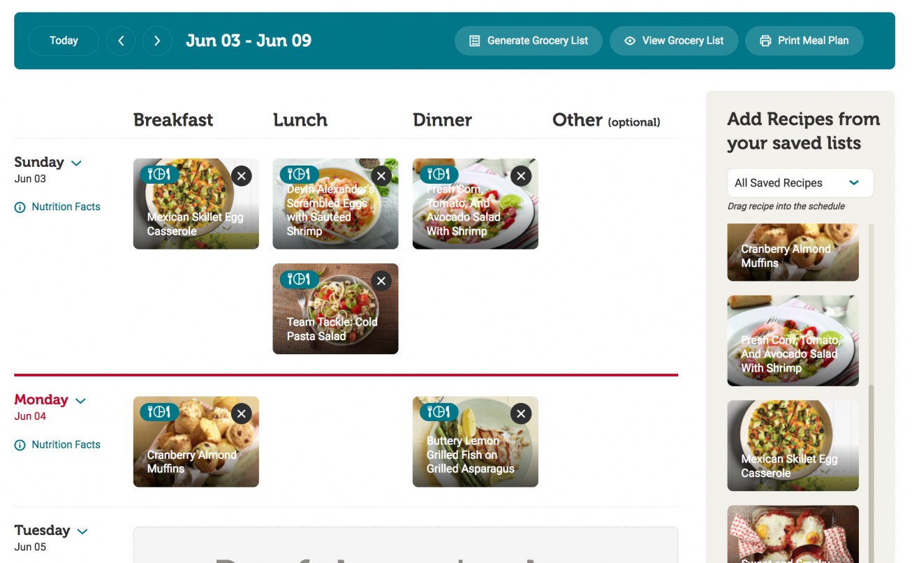 Tips For Using The Diabetes Food Hub Meal Planner And Grocery List