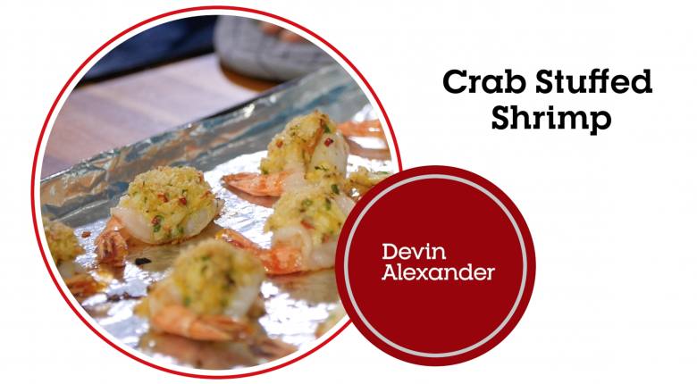 Crab Stuffed Shrimp (Video)