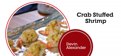 Crab Stuffed Shrimp (Video)