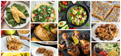 糖尿病食品中心的前20种食谱