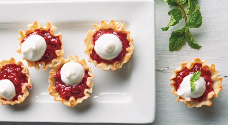 Video: Sweet Tart Raspberry Phyllo Bites