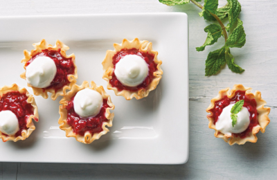 Video: Sweet Tart Raspberry Phyllo Bites