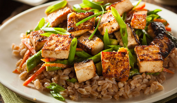 Asian Tofu Stir-Fry