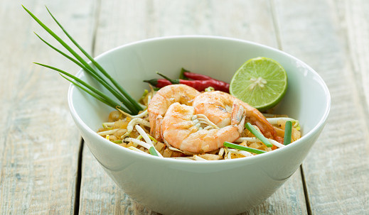 Pad Thai Spaghetti Squash