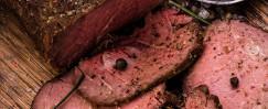 Roast Beef with Creamy Horseradish Sauce