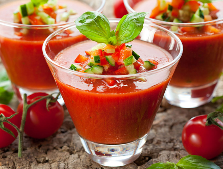 2,2,2 Good Gazpacho