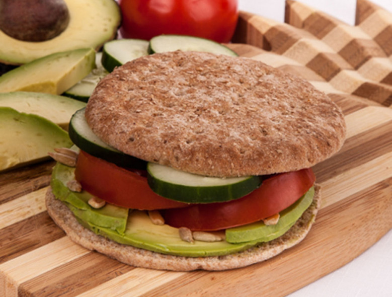 Avocado Veggie Sandwich