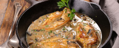 Budget-Friendly Braised Chicken Thighs with Mushrooms