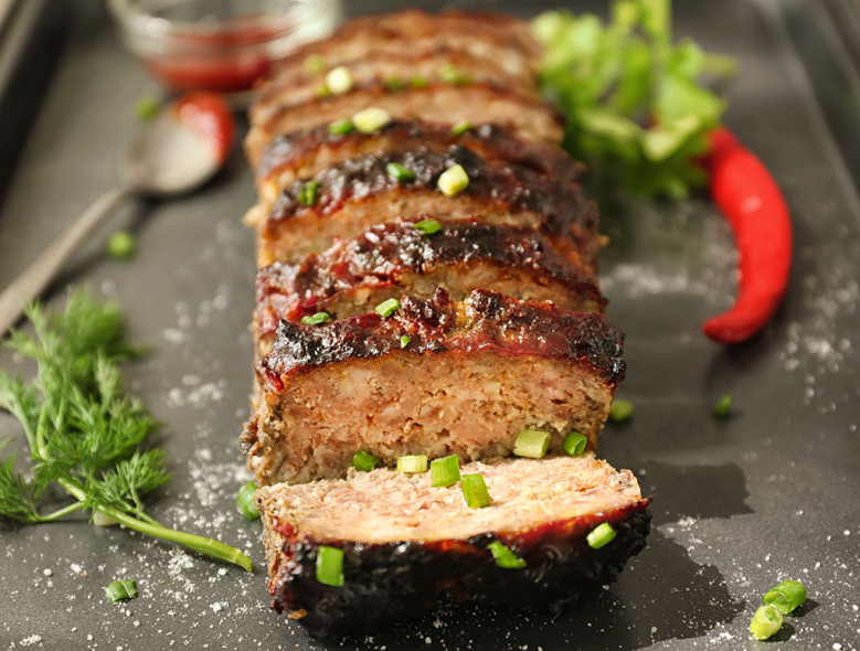 Budget-Friendly Herb Garlic Meatloaf