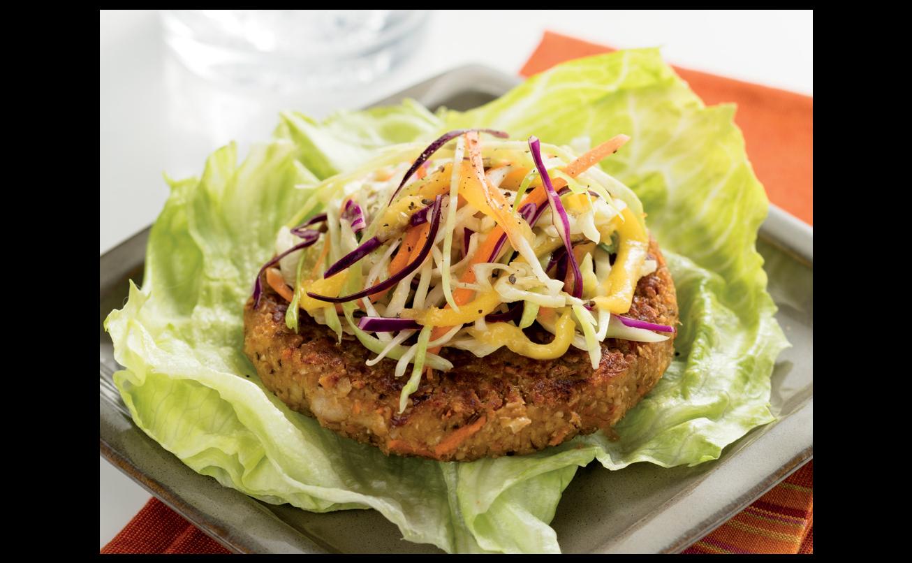 Budget friendly veggie burgers with mango slaw forumfinder Choice Image