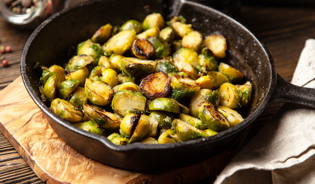Roasted Brussels Sprouts With Honey Mustard