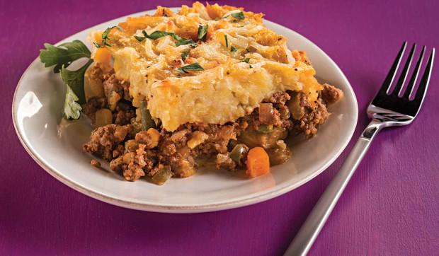 Pastelón (Plantain Shepherd's Pie)