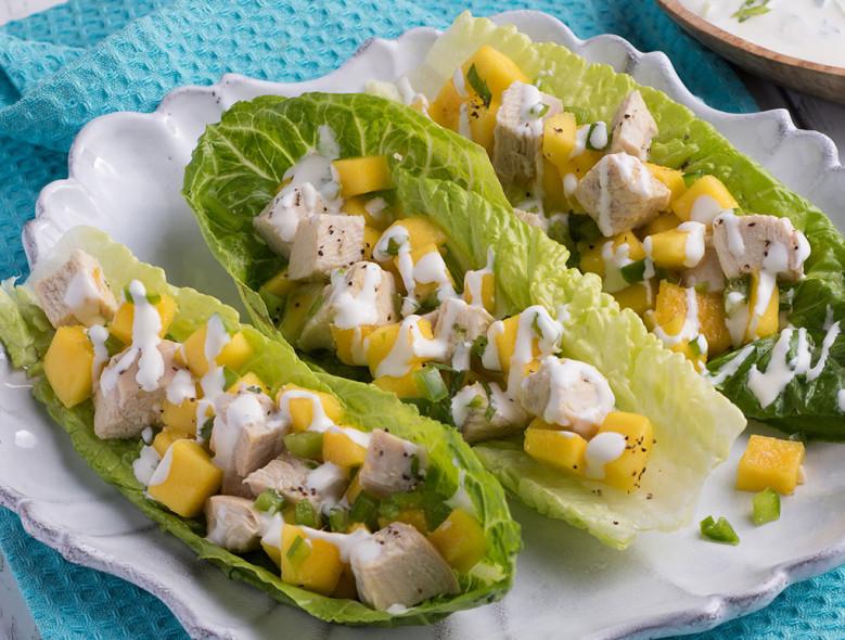 Mango Mango Salad with Chicken