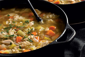 Turkey & Barley Soup