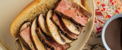 Steak and Portobello Sandwich