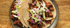 Chipotle BBQ Pork Folded Tacos