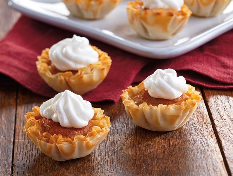 Thanksgiving Perfect Pumpkin Pie-lets