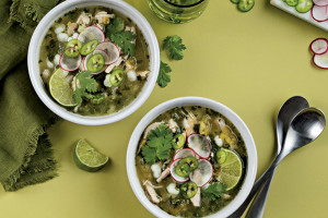 Green Chile Pork Pozole