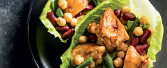 Smoky Chicken and Three Bean Salad