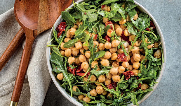 Garbanzo Bean and Arugula Salad