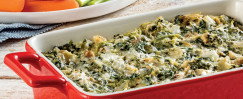 Onion, Spinach, and Artichoke Dip