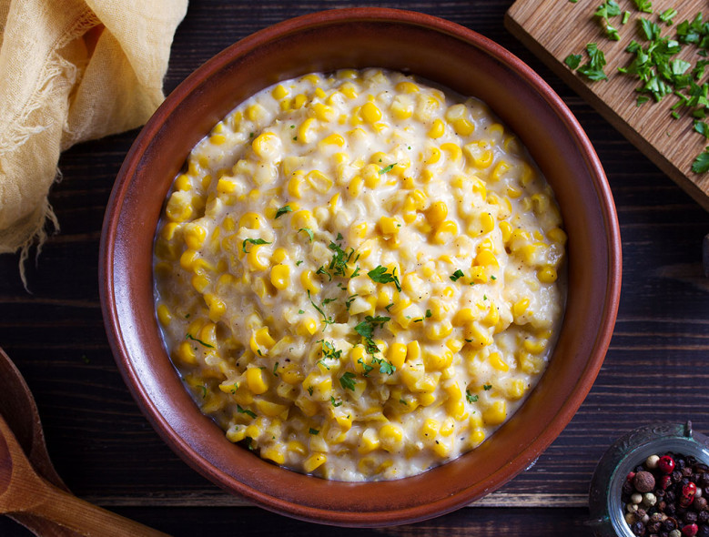 Sweet and Creamy Corn