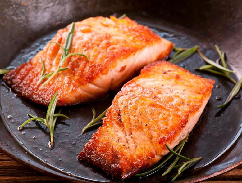 Chipotle Chili and Tea Rubbed Salmon