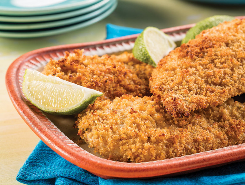 Latin Baked Fried Chicken