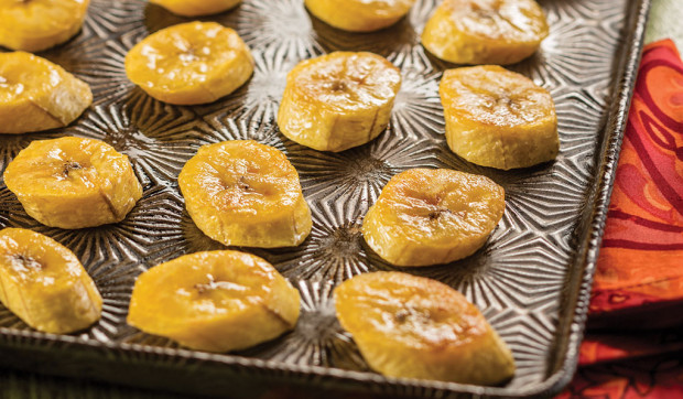 Oven-Baked Maduros (Sweet Plantains)