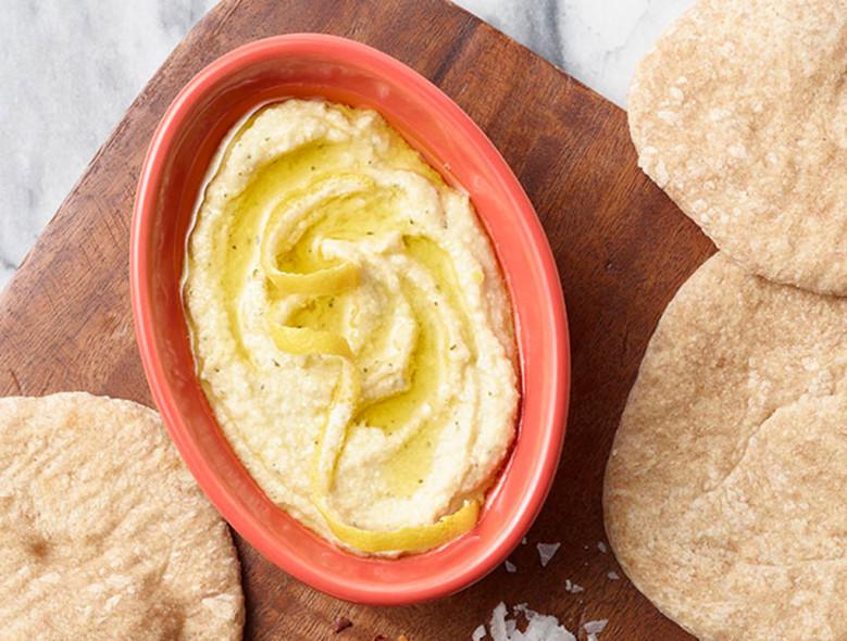 White Bean, Lemon, and Herbed Feta Dip