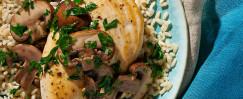 Tarragon Herbed Chicken and Mushrooms