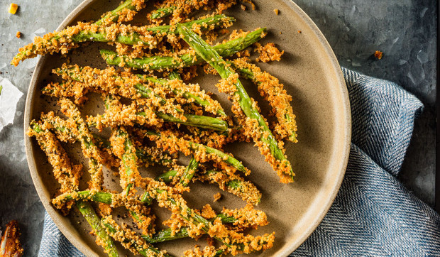 Air Fryer Spicy Green Beans