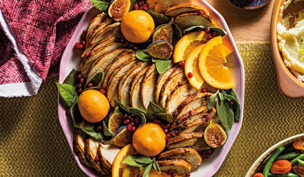 Roast Turkey with Orange-Spice Rub