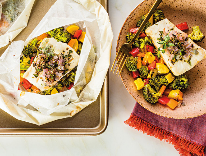 Seasonal Baked Whitefish Pouch