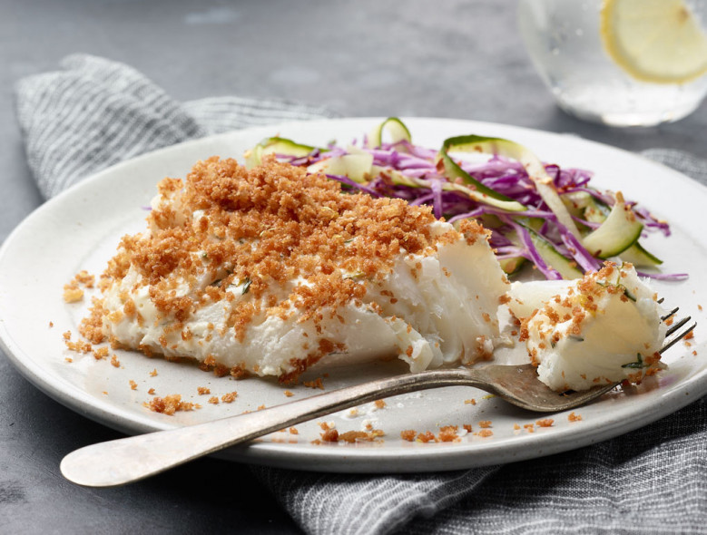 Instant Pot Panko Crusted Cod