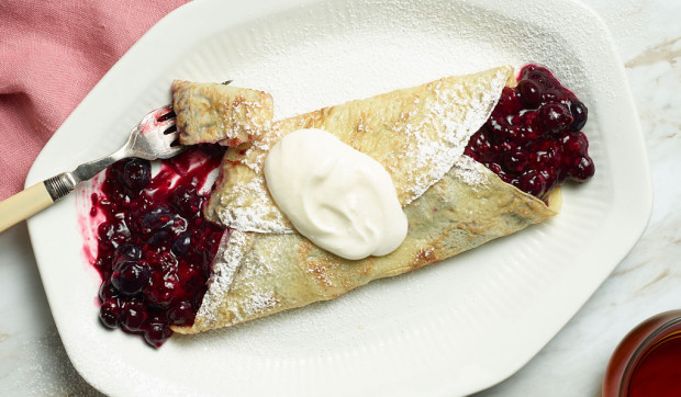 Instant Pot Chia Berry Crepes