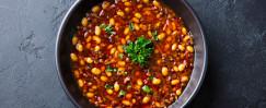 Instant Pot Black and White Turkey Chili Soup