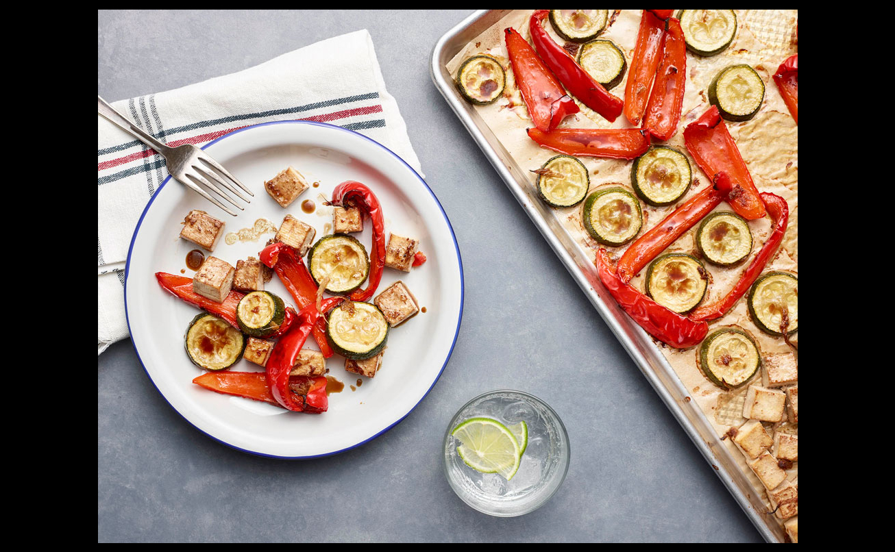 Sheet Pan Zucchini And Red Pepper Quot Stir Fry Quot