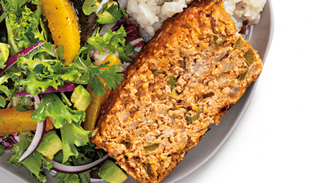 Southwest-Style Turkey Meatloaf