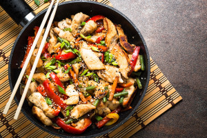 Simple Chicken Stirfry