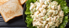 Easy Chicken Salad Toast