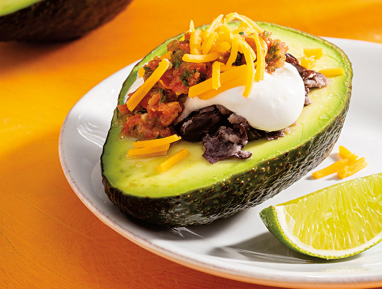 4-Layer Stuffed Avocado