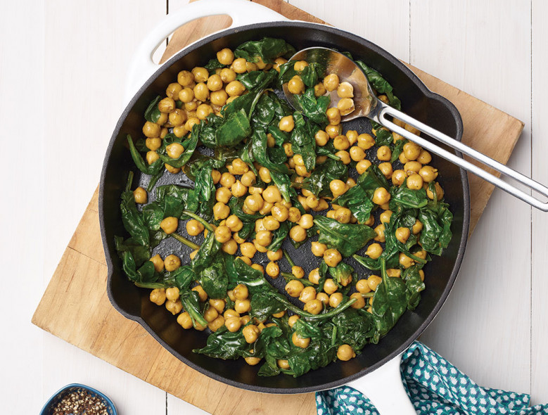 Three-Minute Skillet Beans & Greans