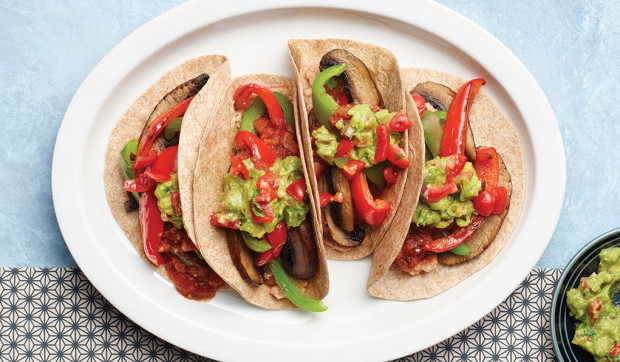 "Plant-Based ""Steak"" Fajitas"