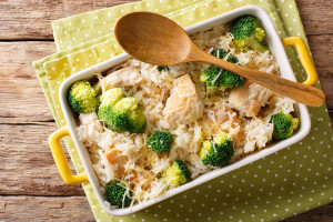 Easy Chicken and Vegetable Casserole