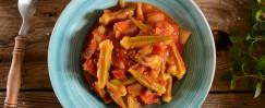 Tomato & Sweet Onion Stovetop Okra