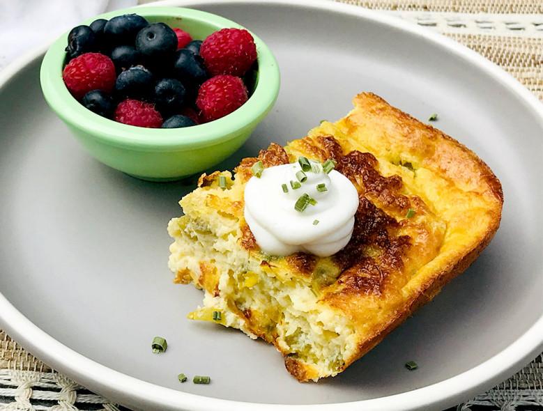 Southwest Breakfast Quiche